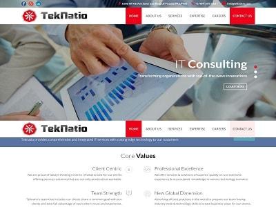 portfolio web designing company webfixer